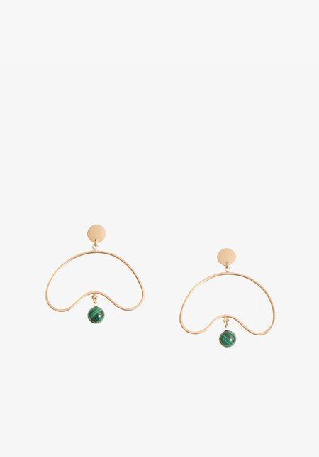 Wklnda Cul-De-Sac Earring