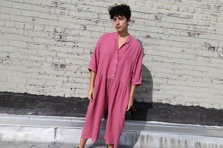 Ilana Kohn Steven Jumpsuit - Rose Linen