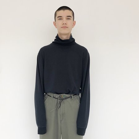 Johan Man Vintage Black Turtleneck