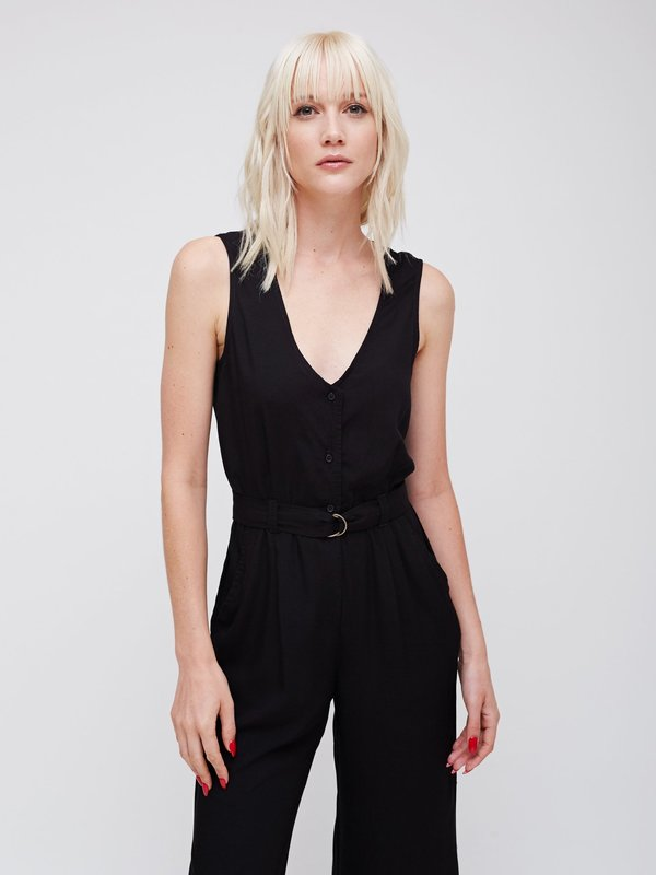 Obey Maya Jumpsuit - Black