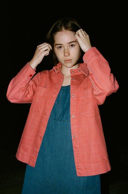 CARLEEN Ardmore Jacket in Red