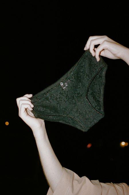 Vivien Ramsay Classic Lace Panty - Black