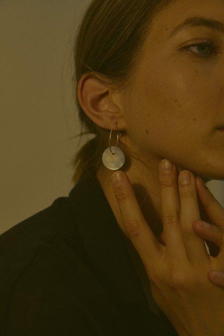 OVNA OVICH Ocka Hoop Earring