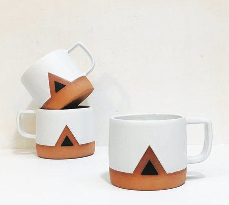 Wolf Ceramics Mountain Mug