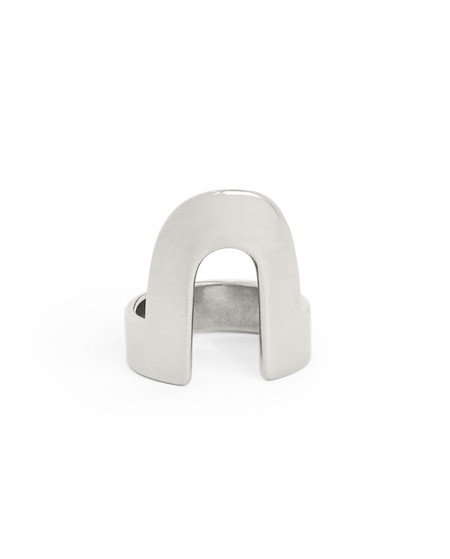 Minoux Sterling Silver Open Arch Ring