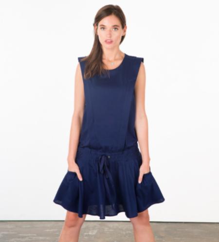 Allette Navy Irene Dress