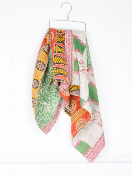Kid's Connected Goods Kantha Baby Blankets