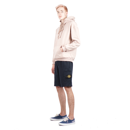 Purlicue TRIPLE HOOD & POCKET PULLOVER SWEATER - DUST PINK