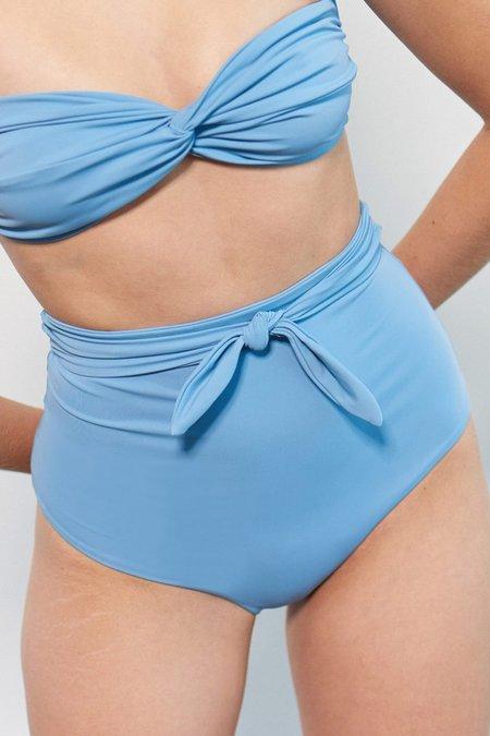 Mara Hoffman Jay Bikini Bottom - Light Blue