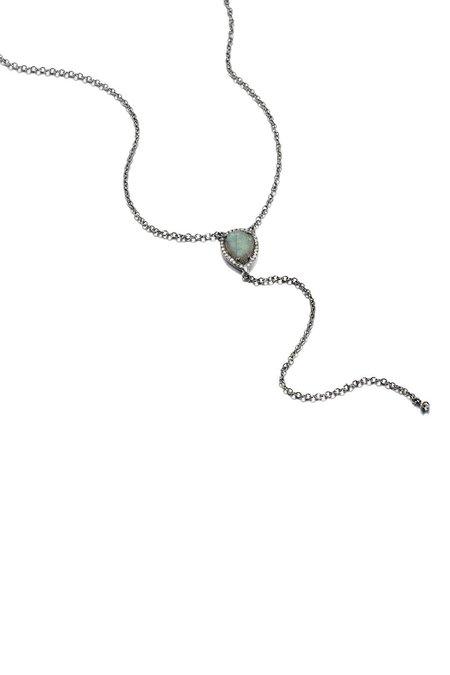 ela rae Rainbow Moonstone Necklace