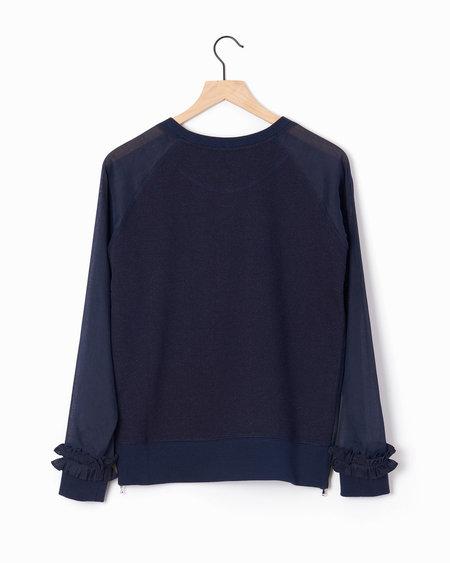 M.Patmos Pekin Denim Sweatshirt