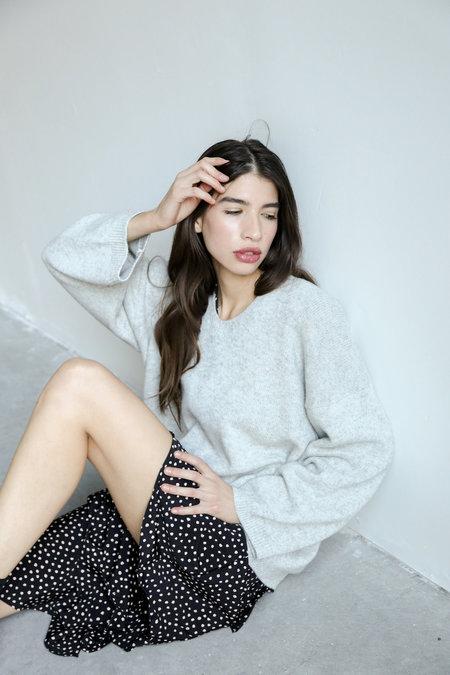 Collection Oversize V Knit - Grey