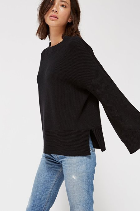 Lacausa Sunset Sweater In Tar