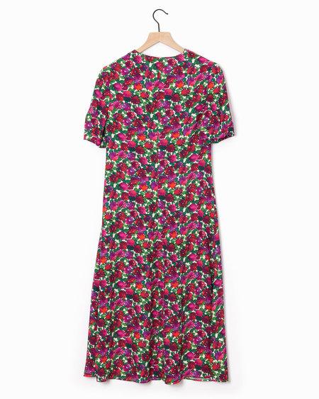 A.P.C. Francis Dress - Pink/Multi
