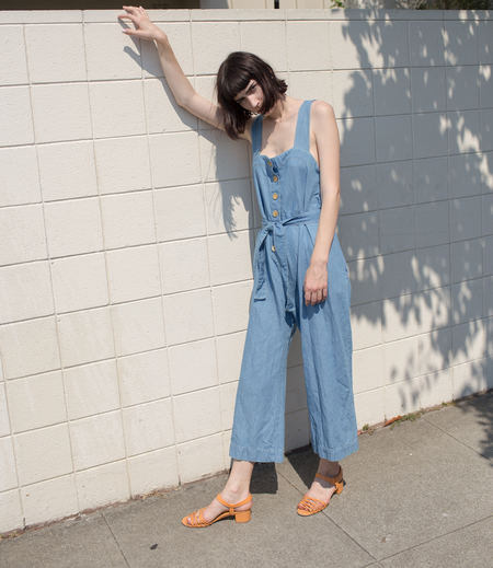 Micaela Greg Palma Jumpsuit in Sun Fade Wash