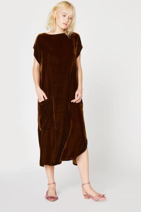 Lacausa Maya Dress - Bronze