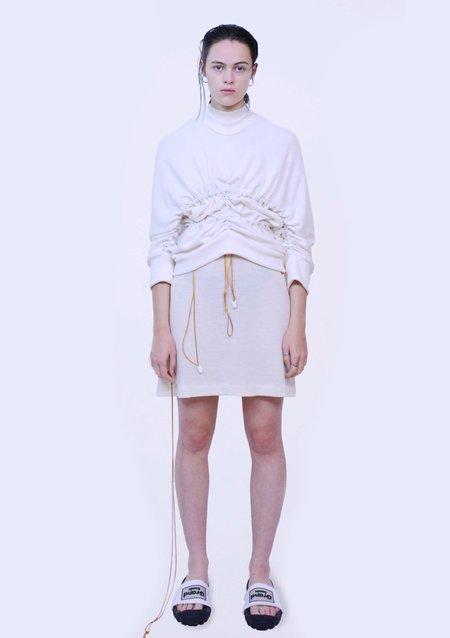 Sample-CM Strappy Sweater