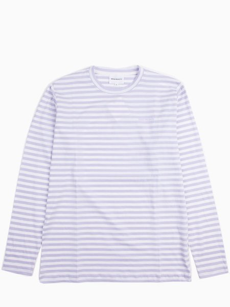 Norse Projects James Logo - Stripe Heather