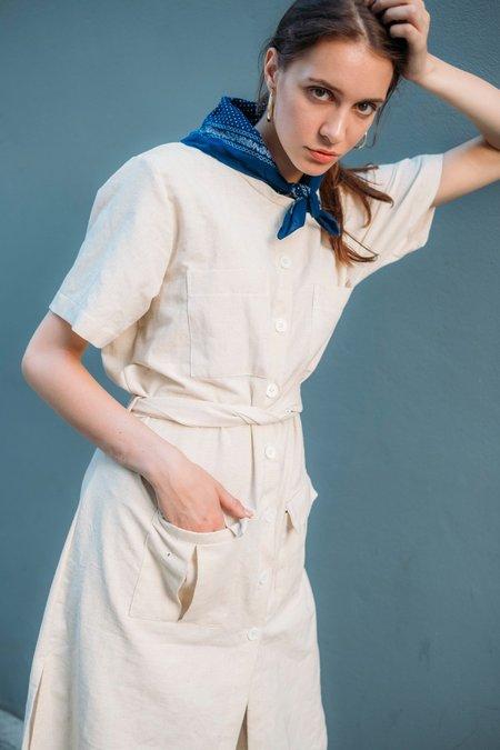 Seeker x Retriever Observer Dress - Natural