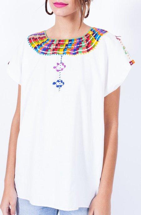 Yo Vintage! Stunning Embroidery Top - Medium