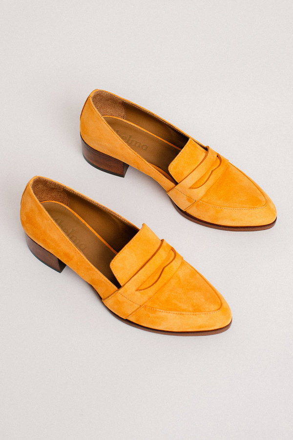 Thelma The Penny Loafer - Tangelo