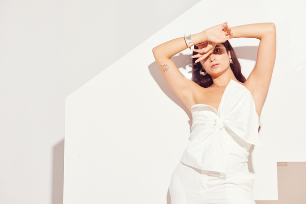 Kamperett Vuelo Jumpsuit in White