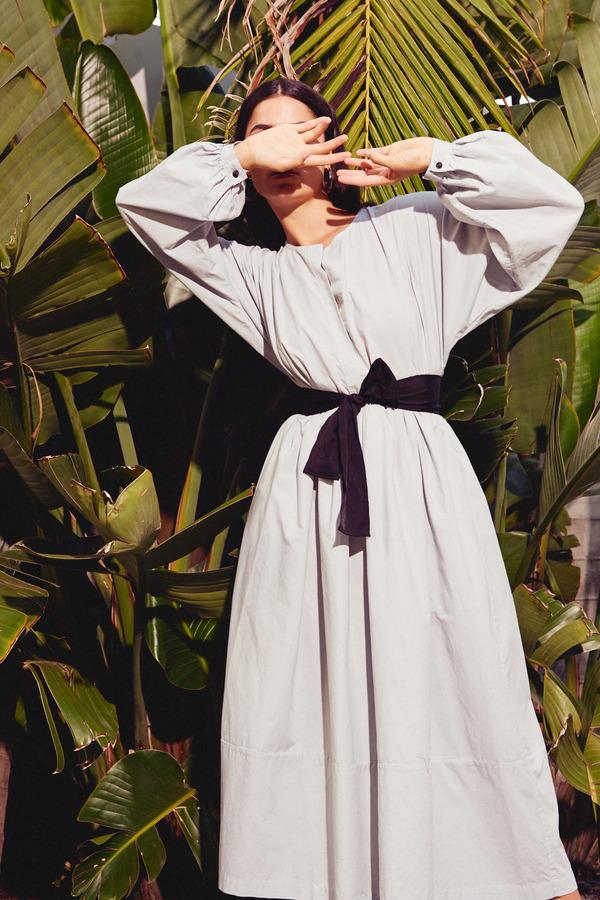 Kamperett Cassatt Dress in Cornflower