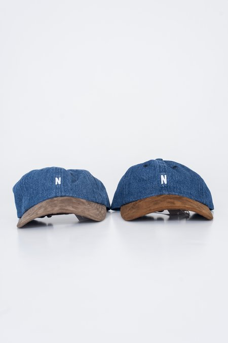 Norse Projects Denim Sports Cap