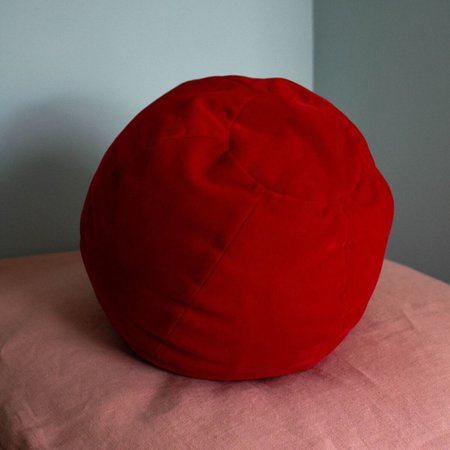 Klay Velvet Globe Cushion