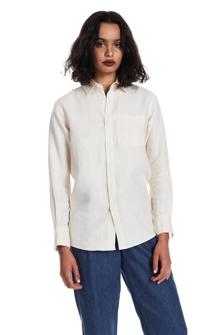 Blluemade Long-Sleeved Shirt in Shell