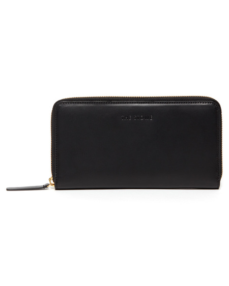 The Stowe Long Wallet in Black