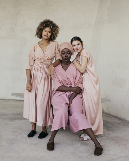 Miranda Bennett Everyday Dress in Bardot Silk Charmeuse