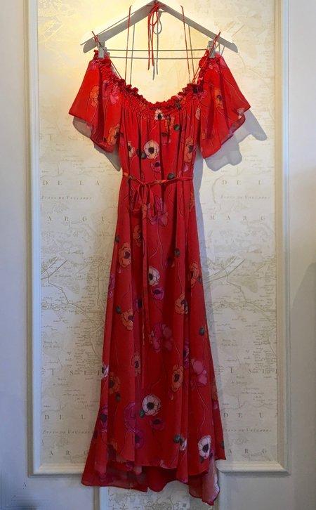 Camilla and Marc Mona Midi Floral Print Dress