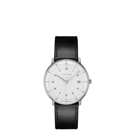 Junghans Max Bill Automatic Watch with Date - BLACK BAND