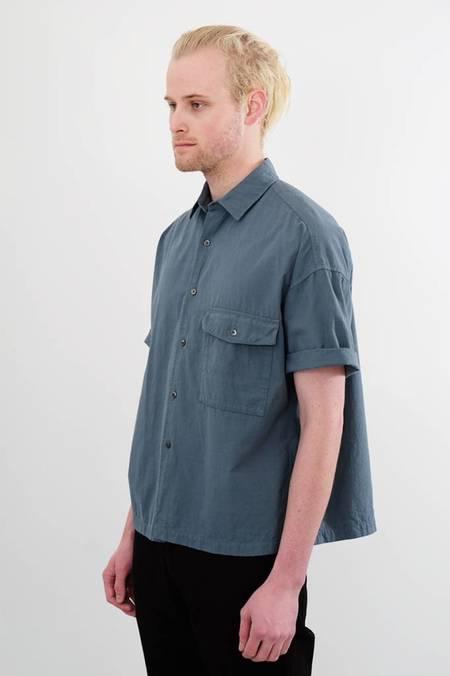 Chest Pocket Cotton Short Sleeve Shirt