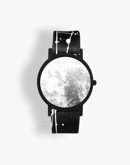Unisex South Lane Avant Diffuse Invert Watch - Triple White