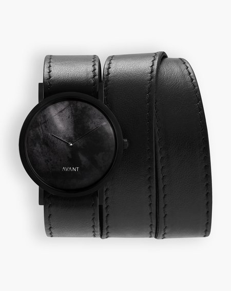 Unisex South Lane Avant Diffuse Watch - Triple Black