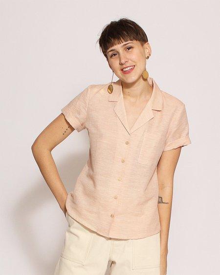 Sunad Basin Shirt in Tangerine