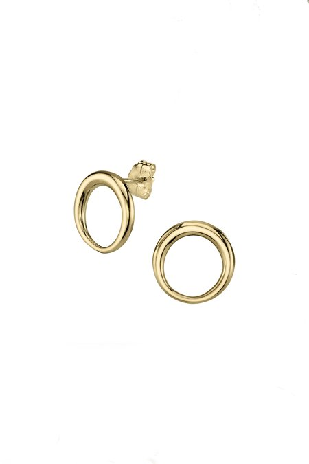 Gabriela Artigas Small Balloon Earrings - Gold