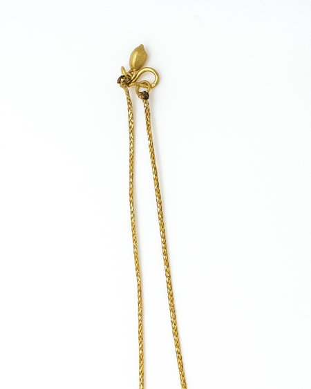 Pippa Small Necklace - Gold Supernova Pendant