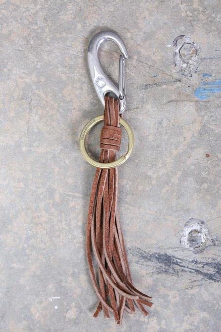 MAPLE Tassel Keychain - Brown