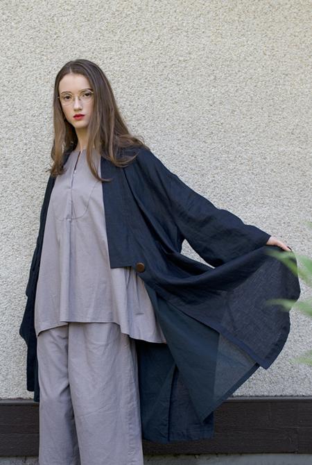 Vestige Story Kensho Linen Coat