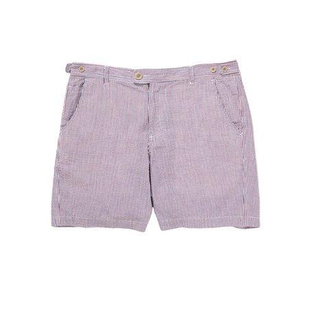 Corridor Seersucker Shorts - Americana