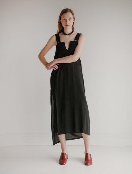 Ys by Yohji Yamamoto Lingerie Wrap Dress