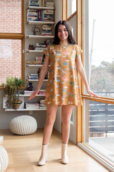 Samantha Pleet Nocturne Dress - Favourite Things Print