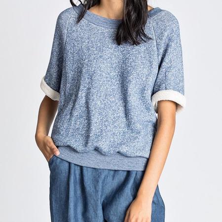 Allison Wonderland Scallop Sweatshirt