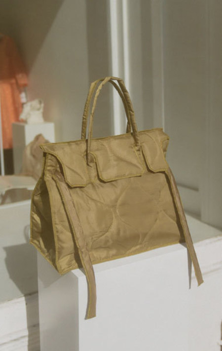 Slow and Steady Wins The Race Quilted Rectangular Tote