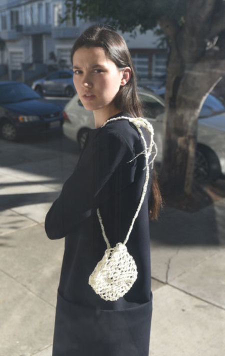Rowena Sartin Crochet Sacklace