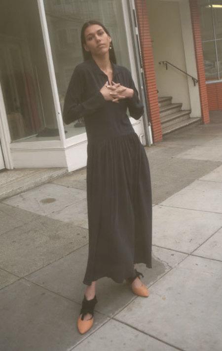Ter et Bantine Washed Silk Dress