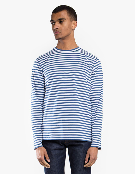 Norse Projects James Logo Stripe